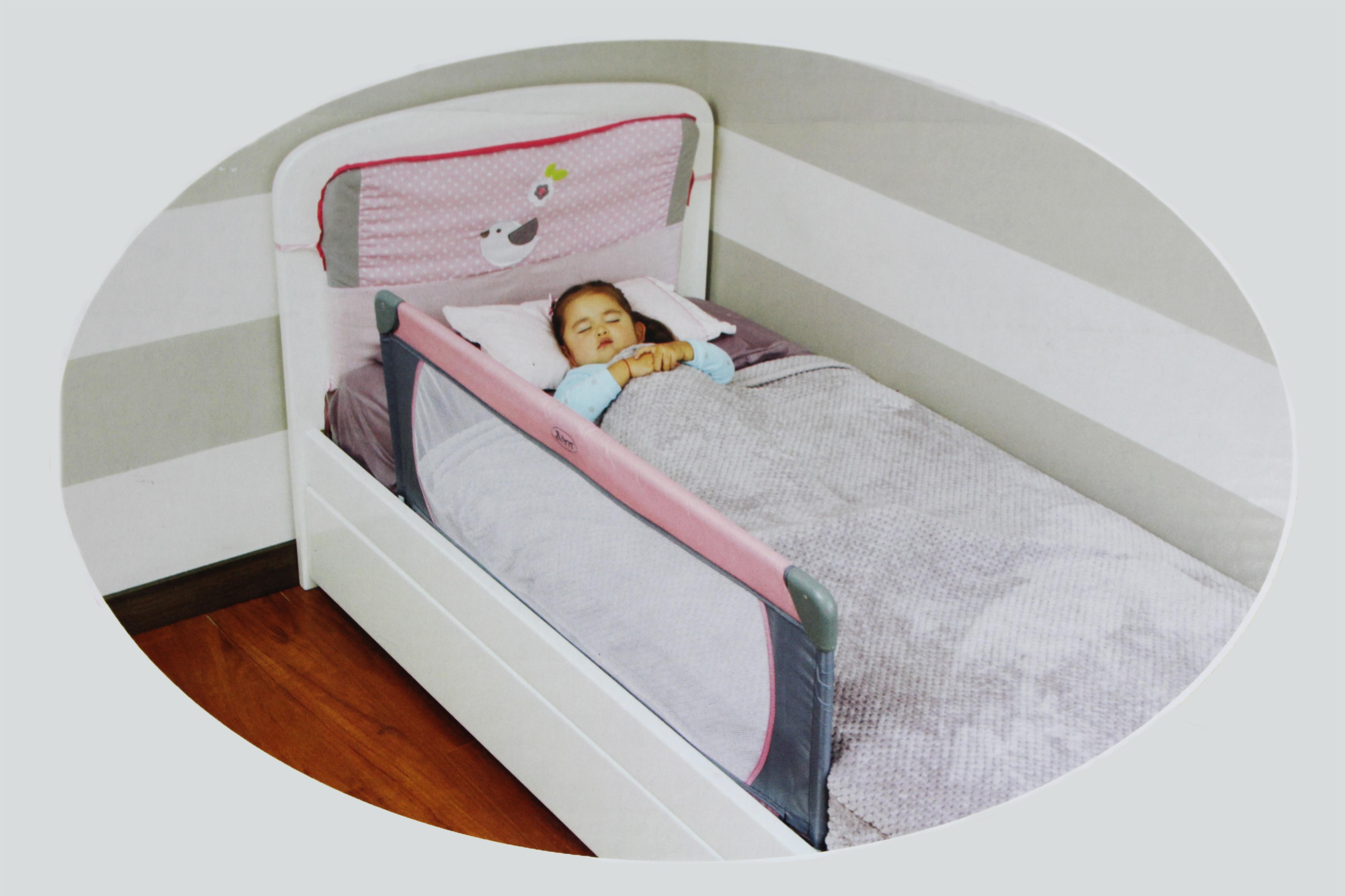 Barandilla de la Cama de beb/é Cama de ni/ño barandilla de Malla Transpirable de elevaci/ón Vertical de Ajuste de 6 velocidades for Camas Infantiles Camas empotradas Camas Planas