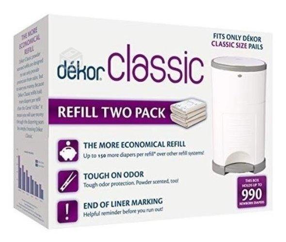 Bolsas de repuesto Dekor Classic