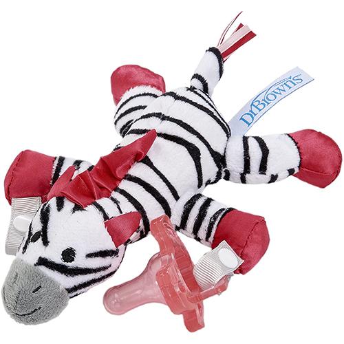 Lovey Zebra con Pacificador Rosa, Dr. Brown´s