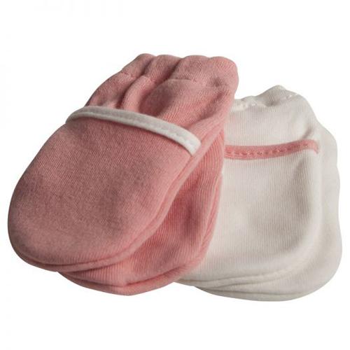 Mitones rosados x2