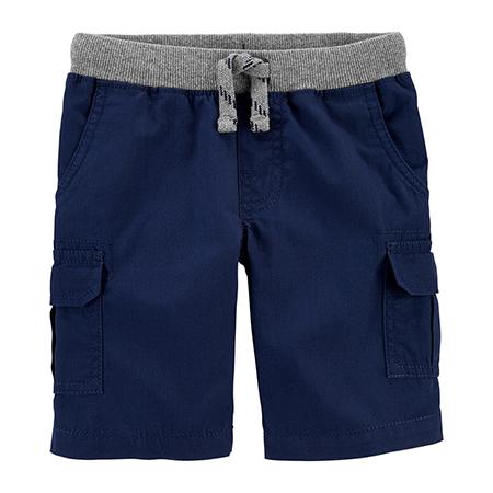 Short Azul con cintura Elástica Niño Carters 9m