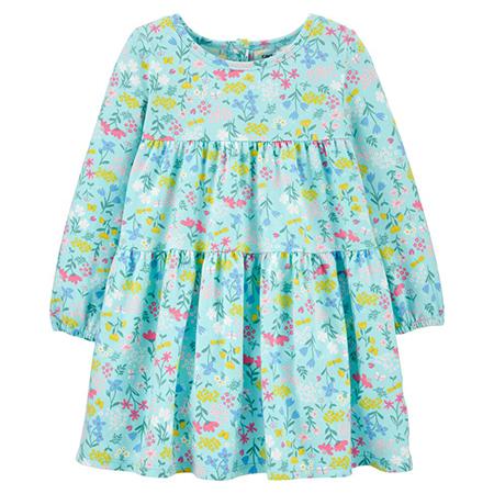Vestido Floral Niña Carters 9m