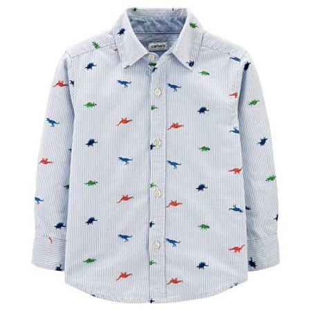 Camisa Dinosaurio a rayas manga larga niño Carter´s 24M