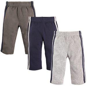 Set 3 PK pantalones deportivos niño 6-9 meses