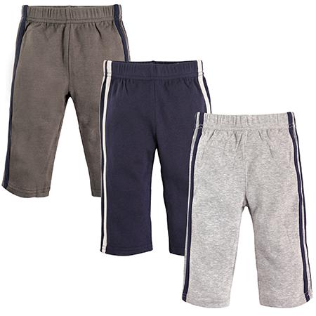 Set 3 PK pantalones deportivos niño 0-3 meses