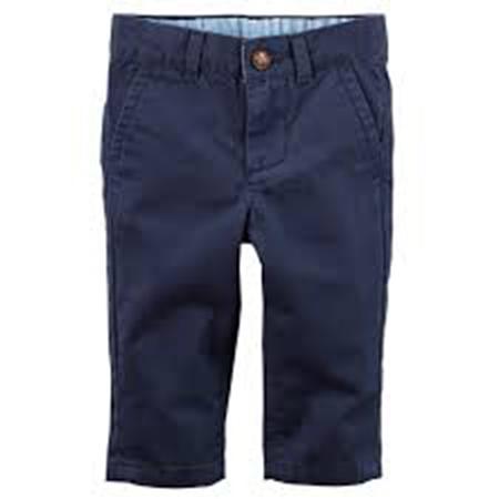Pantalón azúl negro para niño 6 meses