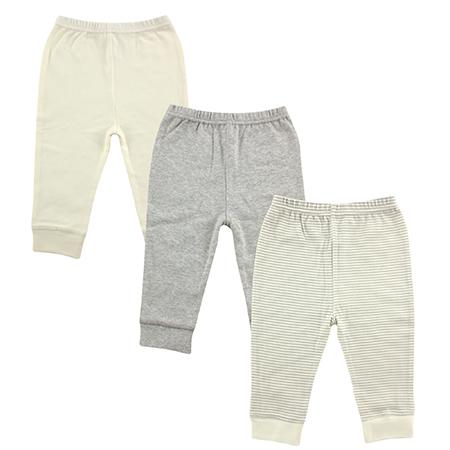 Pantalon 3 pk niño neutral Luvable friends 6-9 meses