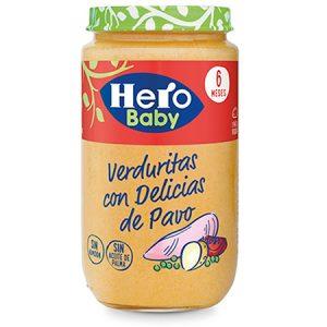 Hero baby Verduritas con delicia de pavo 235g