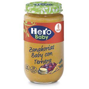 Hero baby zanahorias baby con ternera 235g