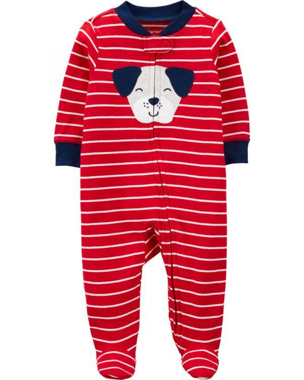 Pijama con pie de Perro 9 meses Carter´s