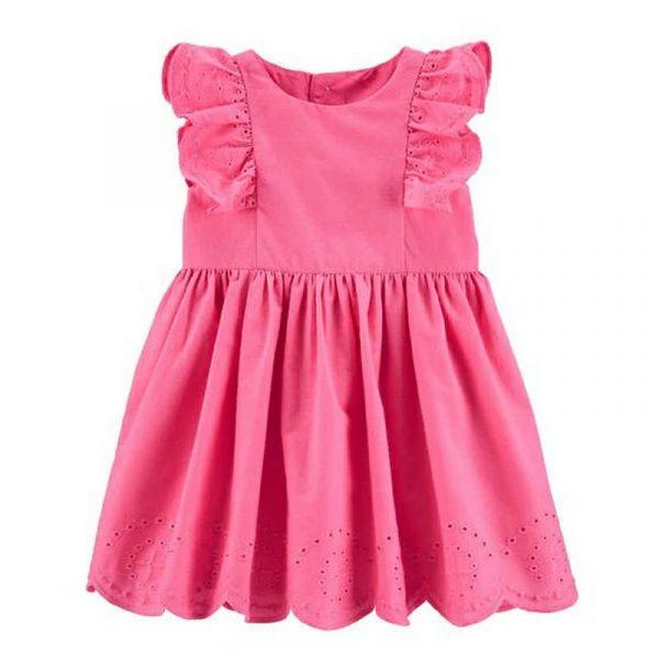 Vestido con calzón Pink niña 3 meses Carter´s