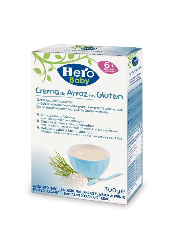 Baby cereal seco crema arroz/s gluten 1/6