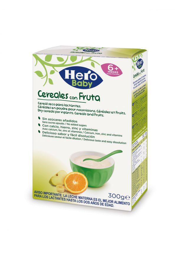 Hero Baby Cereales y frutas 300G 1/6U