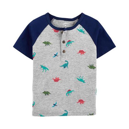 Camisa m/c Dino print Niño 6M Carter´s