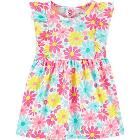 Vestido con calzón Multi flower niña 3 M
