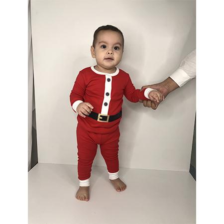 Pijama navidad santa  6 M