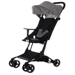 Born-  DLX 729-I Strollers  Negro y Gris