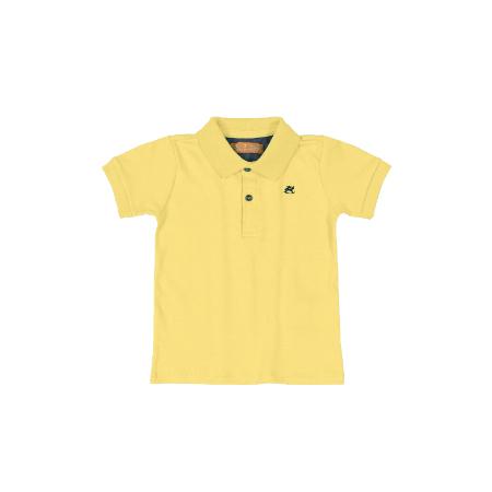 Camisa m/c con Cuello Amarilla para Niño 24M