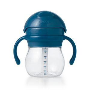 Taza de Transición Con Agarradera 6 0z Azul marino