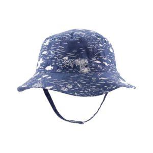 Sombrero Azul Niña 0-3 M