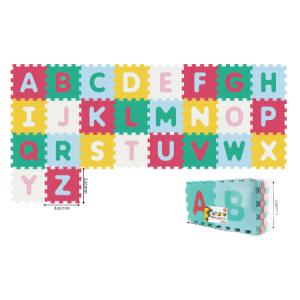 Alfombra  Rompecabezas Alfabeto Colorida  26PCS