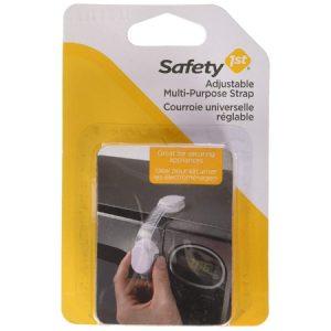Safety 1st –  Seguro Multiuso Ajustable Blanco